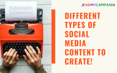 Different Types of Content You Can Create for Social Media